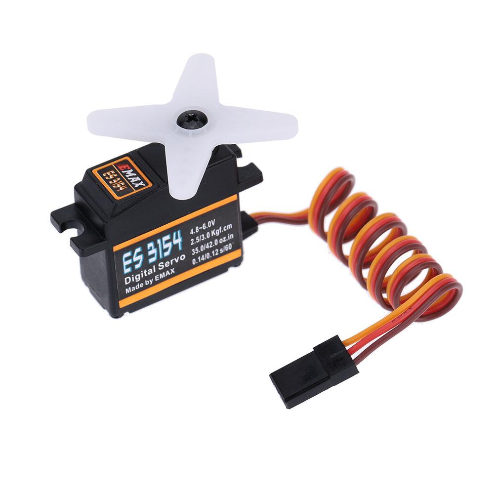 EMAX ES3154 Metal Digital micro Servo for RC Helicopter Airplane Car order<$18no track