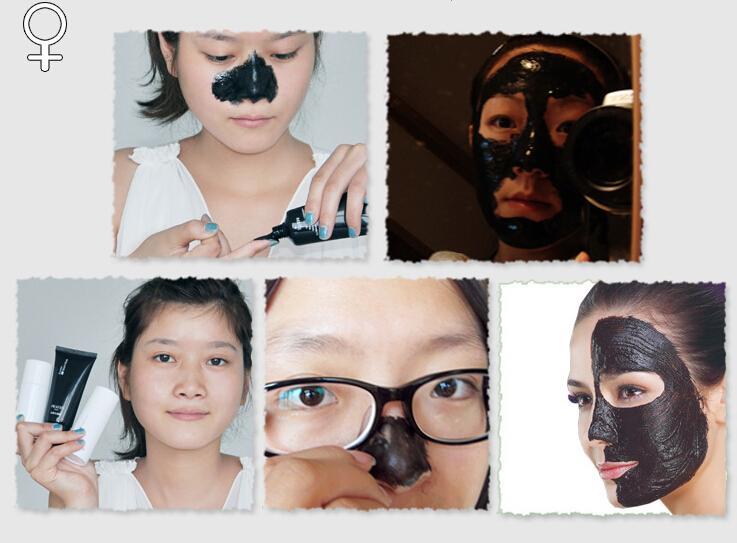 100 adet / grup PILATEN Siyah Nokta Remover Derin Temizlik Arındırıcı Peel Akne Tedavisi Çamur Siyah Çamur Yüz Maskesi
