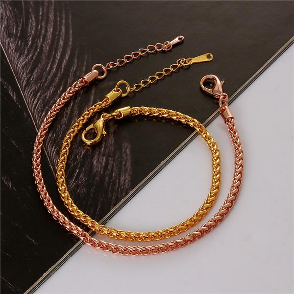 YiWu Factory Wholesale Price Saudi Gold Jewelry Bracelet Gold