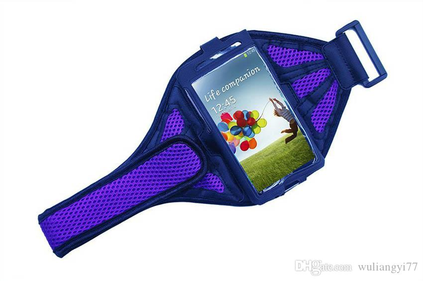 Mesh Breathing Holes Arm Band Running Sport GYM Armband Case for iPhone 6s PLUS LG G3 D855 5.5 Inch Jogging Phone Bags Cover