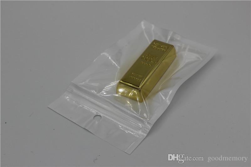 Metal Kalem OTG Sürücü USB Memory Stick Pendrive OnlyDisk epacket 2020 Külçe altın OTG 16GB 32GB 64GB USB Flash Sürücü