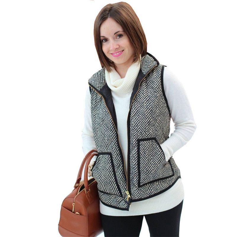 Online Cheap Wholesale Exclusive Women Winter Vests Jacket ... : cheap quilted vest - Adamdwight.com