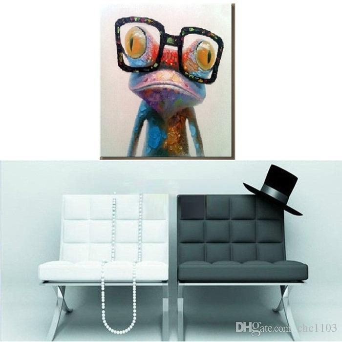 NEW 2015 100% hand-painted famous oil painting high quality Modern artists painting Lovely gorilla AN-103