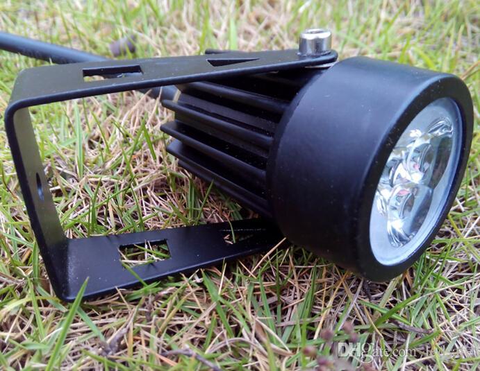 IP65 LED lampada esterna 12V 110V 220V LED impermeabile prato luce 3W Faretti Lampada Yard Giardino Esterno Lampadina ROSH l'illuminazione della decorazione CE