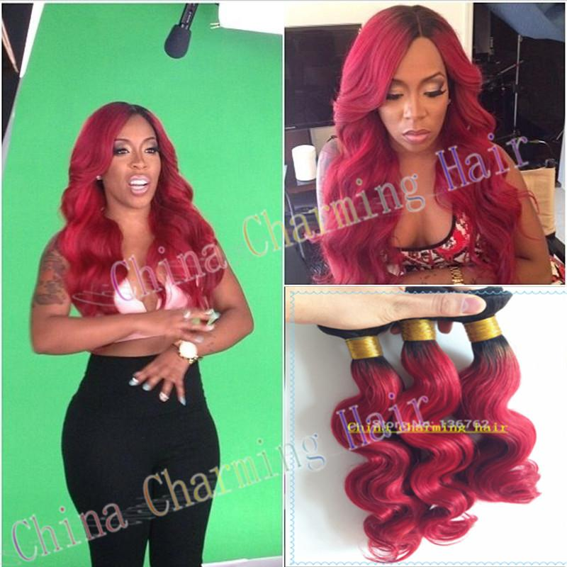Fashinal 1b red dark roots red hair 100 brazilian virgin body fashinal 1b red dark roots red hair 100 brazilian virgin body wave human hair ombre wavy hair weave wefts pmusecretfo Image collections