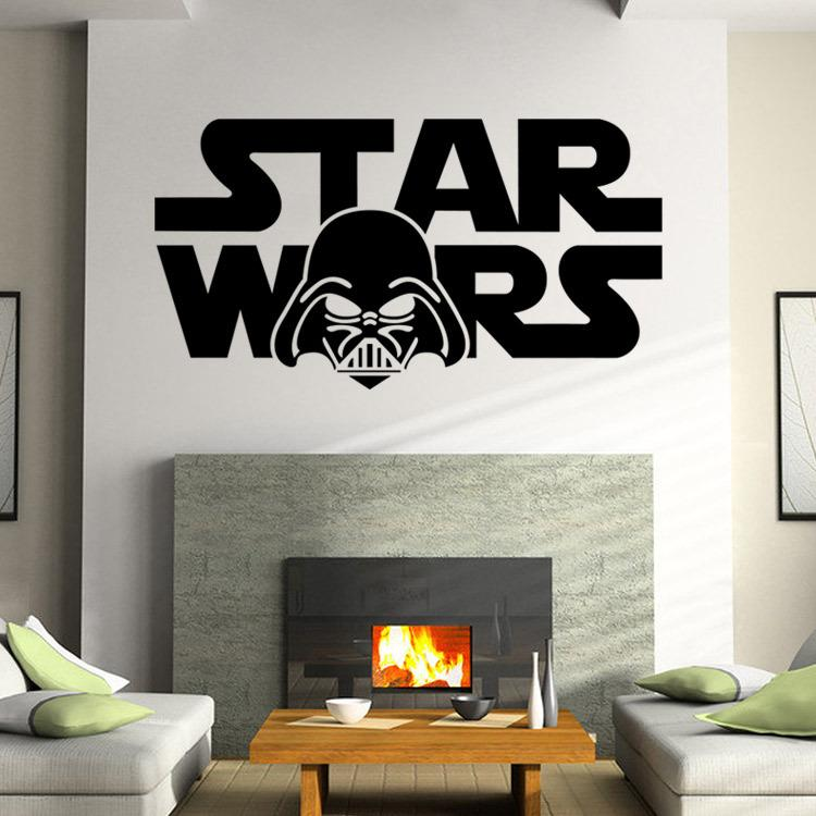Star Wars Wall Decal Darth Vader Vinyl Sticker Boys Bedroom Wall Decor Lego  Star Wars Poster Wall Stickers In Stock Stickers Wallpaper Stickers Walls  From ...