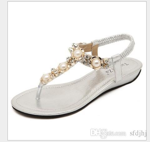 ced814cf60865 Size 35-40 Vintage Women Sandals Fashion Crystal Gladiator Sandals ...