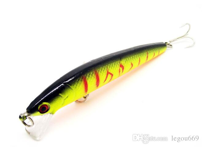 2015 best-selling 10CM / 9G / fishing lures fishing bait minnow bass lure fishing tackle isca artificial wobbler FYE009