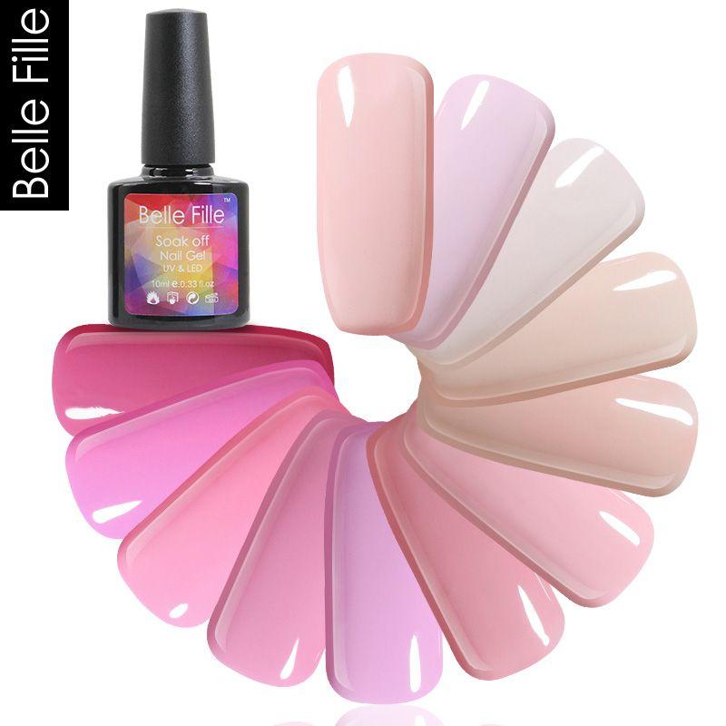 Wholesale Series Color Nail Gel Polish Uv Soak Off Gelpolish Lacquer ...
