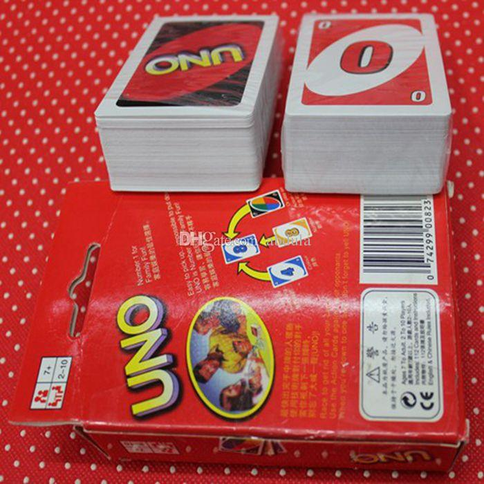 cheap uno card family fun games transparent waterproof uno h2o game