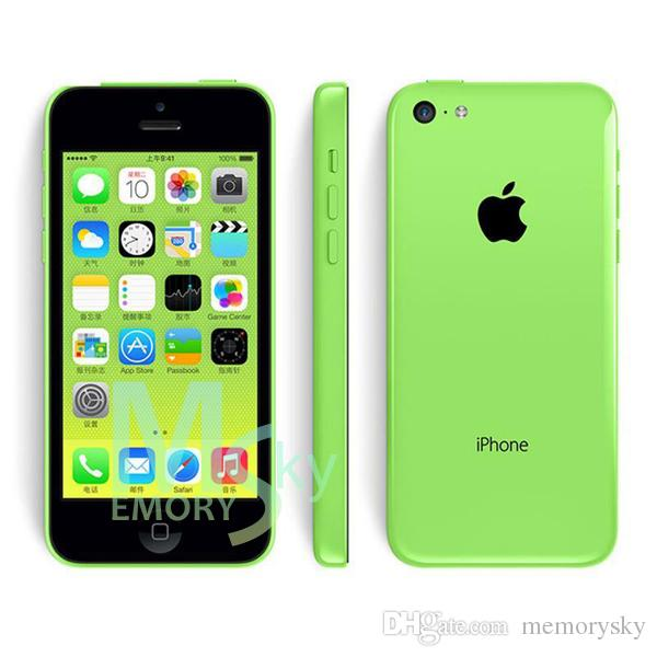 "Original Refurbished Unlocked Apple iPhone 5C Cell phones 16GB 32GB dual core WCDMA+WiFi+GPS 8MP Camera 4.0"" Smartphone US Version 002849"