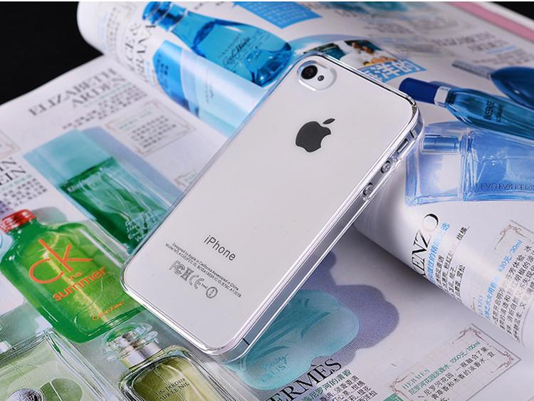 Transparent PC Hard Clear Protective Back Case Luxury Designer Cellphone Cover Shell for 6s 6plus 5 5s SE 5c Samsung S7 S6 izeso