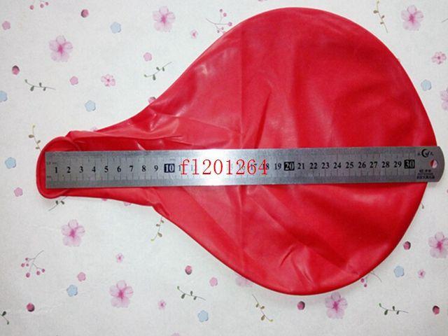 Kostenloser Versand Neue Ankunft Große Ballone 36 inchte lila Runde Latexballons für Hochzeitsfeier, /