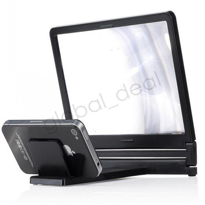 携帯電話のスクリーン拡大鏡ブラケット拡大スタンドのiPhone 5 5S 5C 4 SAMSUNG GALAXY S5 S4 S3ノート4