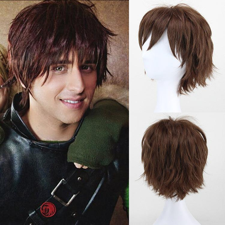 New Fashion Short Hair Wig Men Wigs Synthetic Short Mens Blonde Wig Bangs  Dragon 2 Hiccup Style Male Wig Cheapest Price China Lace Wigs Mohawk Wigs  From ... 6ede83c131e8