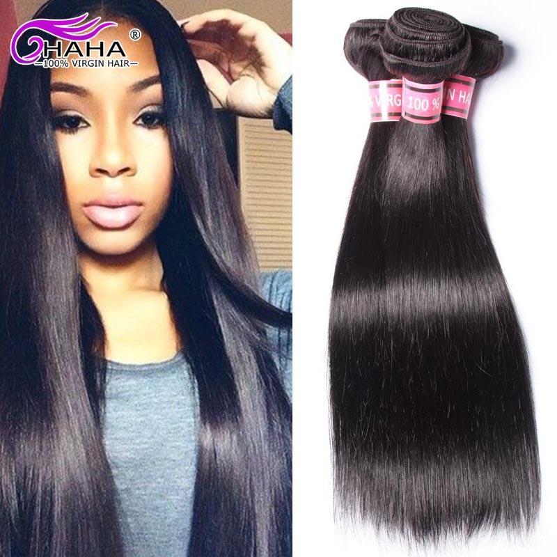 Unprocessed Remy Straight Hair 7a Brazilian Virgin Hair Silky