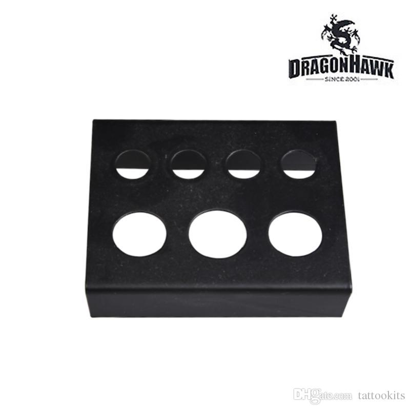 Tattoo Pigment Ink Caps Cups Holder Shelf Iron Black factory price WS004-1