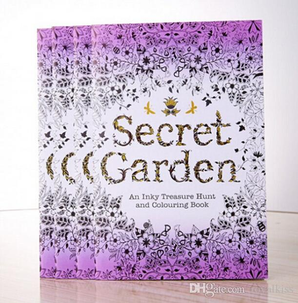 Best Newest Portable Secret Garden Mini Adult Coloring Book ...