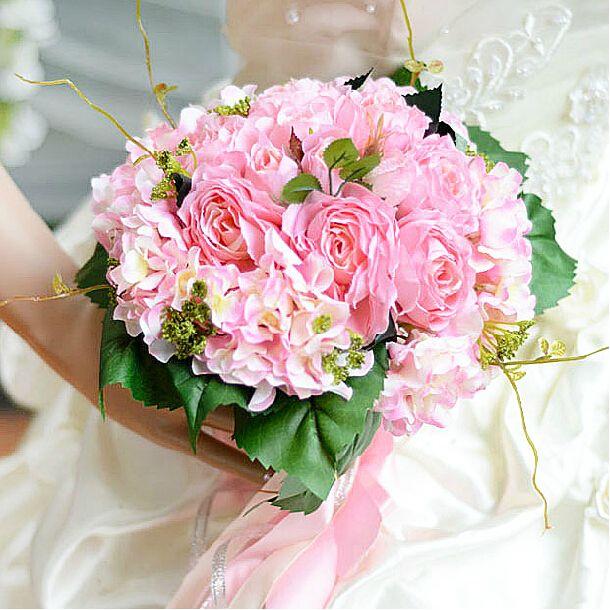 Wedding Flowers Cheap Ideas: Cheap Wedding Bouquets 2015 Nosegay Three Styles Bouquets