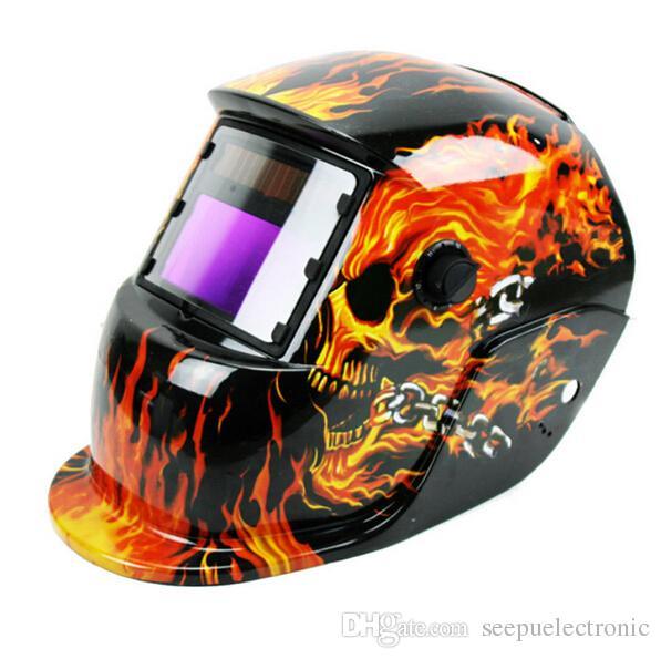 Pro güneş otomatik kararan kaynak kask ark tig mig sertifikalı maske taşlama