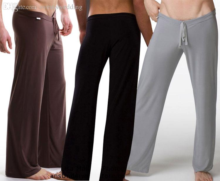 Mens silk pyjama bottoms