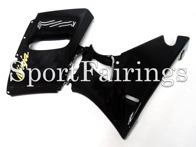 Injection Fairings For Kawasaki ZZR600 ZZR-400 93 94 95 96 97 ABS Plastic Complete Motorcycle Fairing Kits Cowling Gloss Black Gold Decals