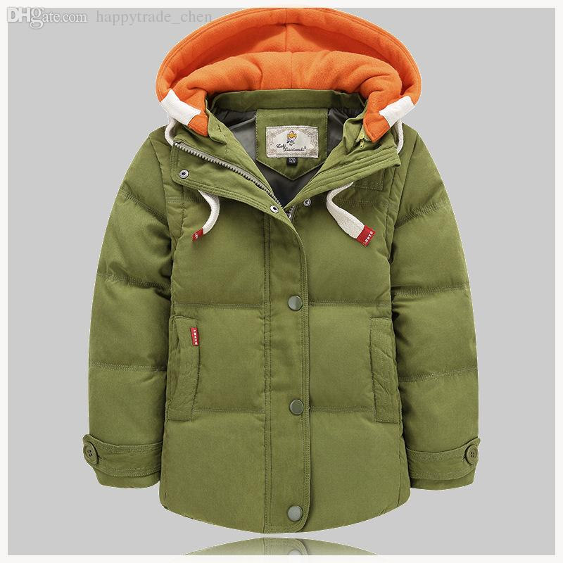 Wholesale Kids Winter Coat 80% Duck Down Children'S Warm
