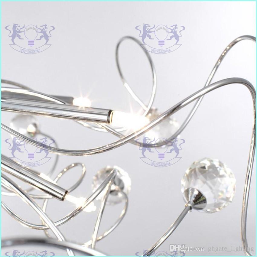 Moderne kristall led kronleuchter deckenleuchte beleuchtung kristall kronleuchter lampen pendelleuchte mit 11 g4 lichter