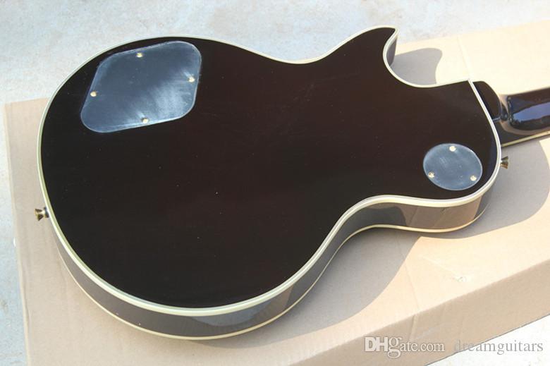 Fábrica Tigre Flame Maple Top Personalizado VS Sunburst Mahagany Padrão Do Corpo 6 Cordas Guitarra Elétrica Chinesa de Alta Qualidade Frete Grátis