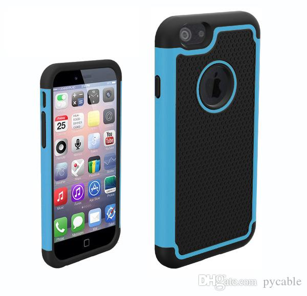 For Samsung s6 Hybrid Football Case Rugged Impact Rubber Matte Shockproof Heavy Hard Case for iphone 6 Plus Samsung Galaxy S3 S4 S5 S6 Edge