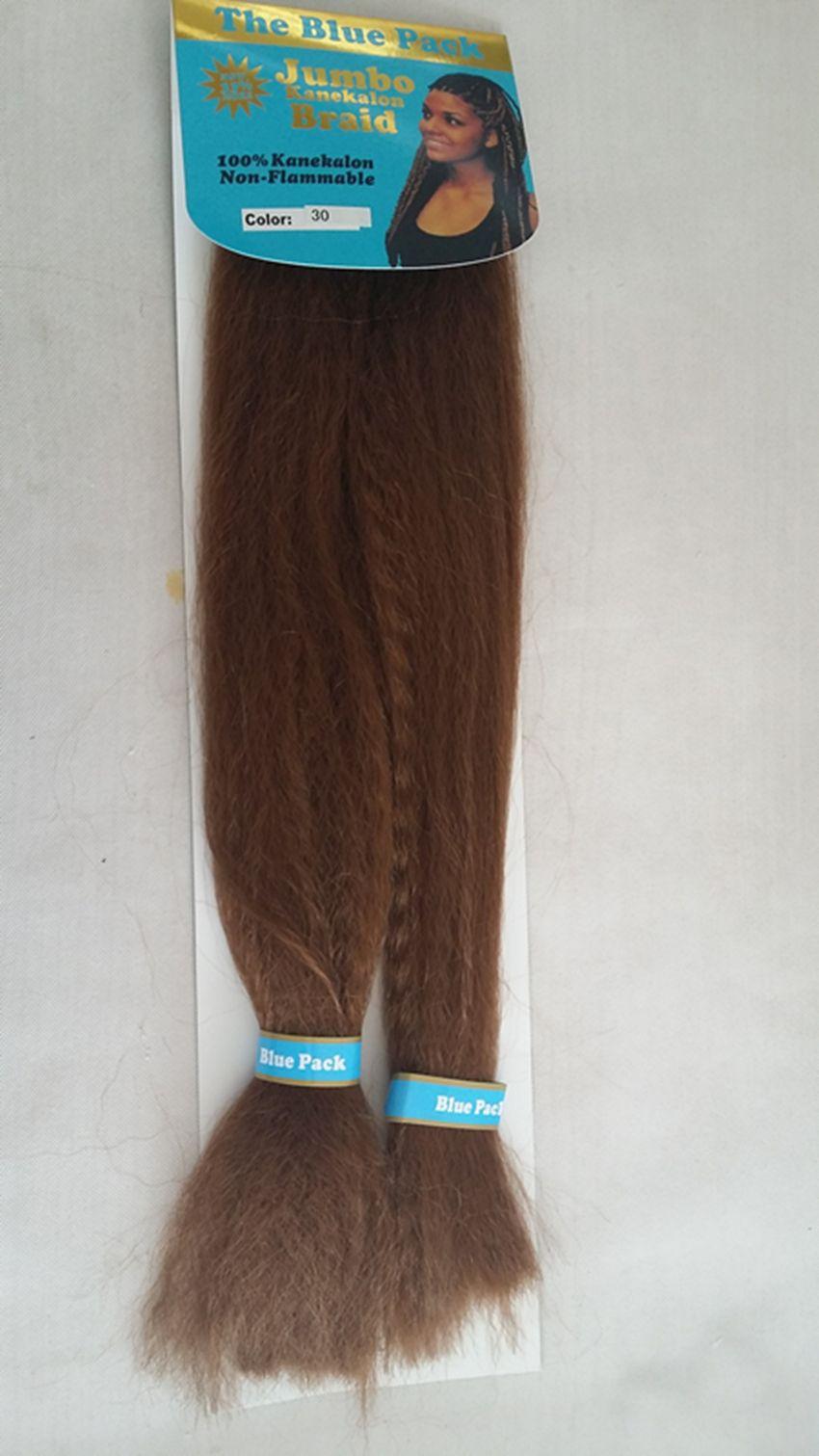 Hot Water Braid 100 Kanekalon Jumbo Braid Hair 50inch 80g