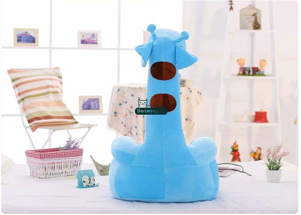 Dorimytrader 28'' / 70cm Giant Stuffed Soft Plush Cute Large Cartoon Giraffe Deer Kid Sofa Tatami, DY60511