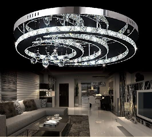 New Design K9 Crystal Led Chandelier Ceiling Living Room