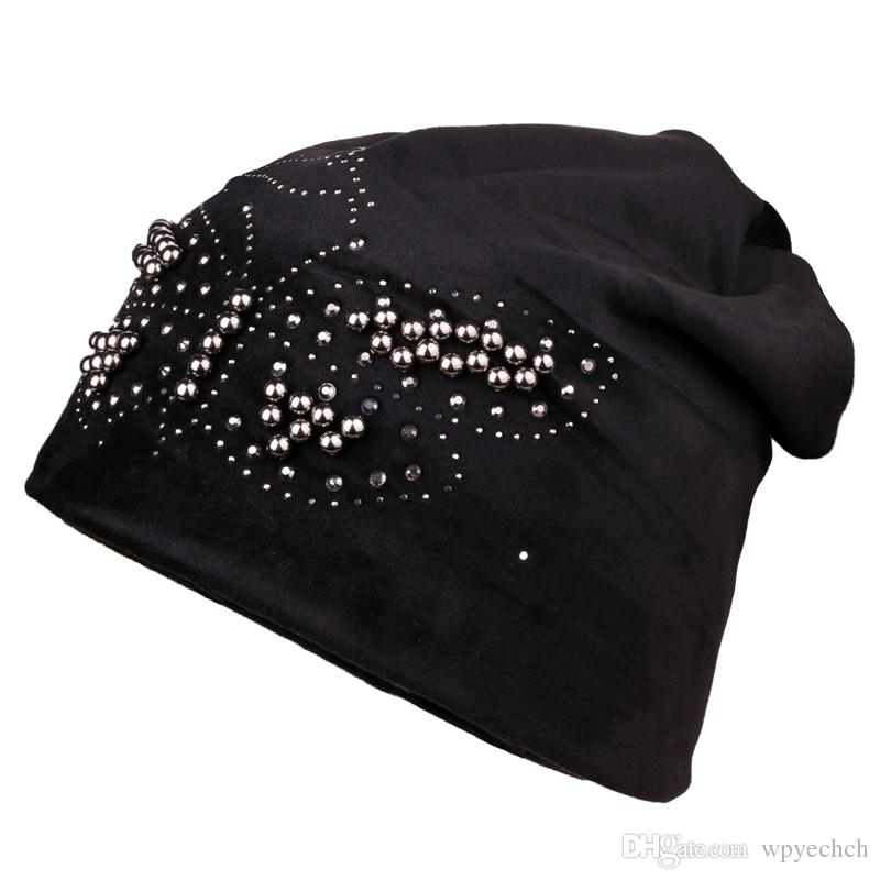 1c9cd929 Rhinestone Beanie Warm Winter Hat Women Crystal Butterfly Knitted Blaclava  Ladies Skullies Brand Hats For Women Cap Beany Wholesale Hats From  Wpyechch, ...