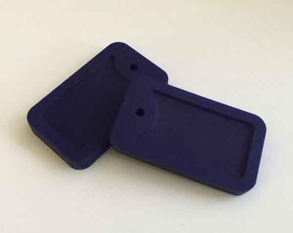 Etiqueta de perro colgante de silicona grano de la dentición de calidad alimentaria collar masticable etiqueta de perro mordedor para regalo de la ducha de bebé collar sensorial