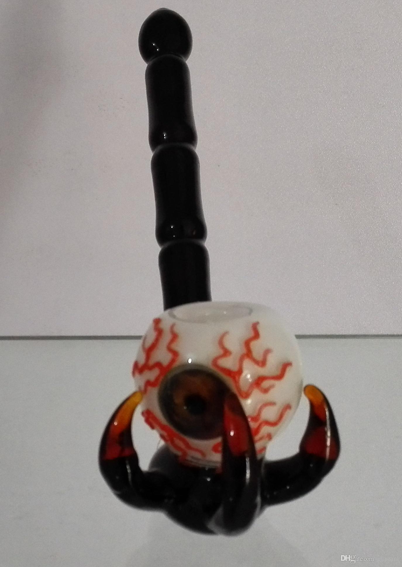 jhgSurprise yeni Alien Cam borular cam sigara borular 17.5 cm yükseklikteki cam su boruları