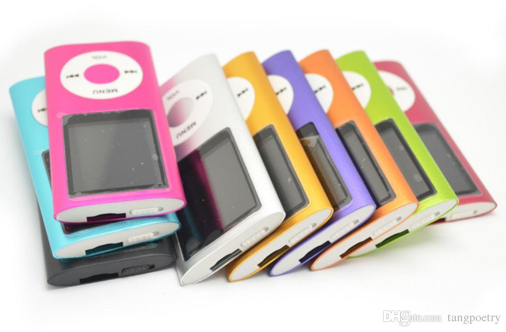 40X 1.8 inch Screen 4th mp3 mp4 Player with card slot FM radio Voice Recorder USB Cables+Earphones+Retail Boxes 5-MP