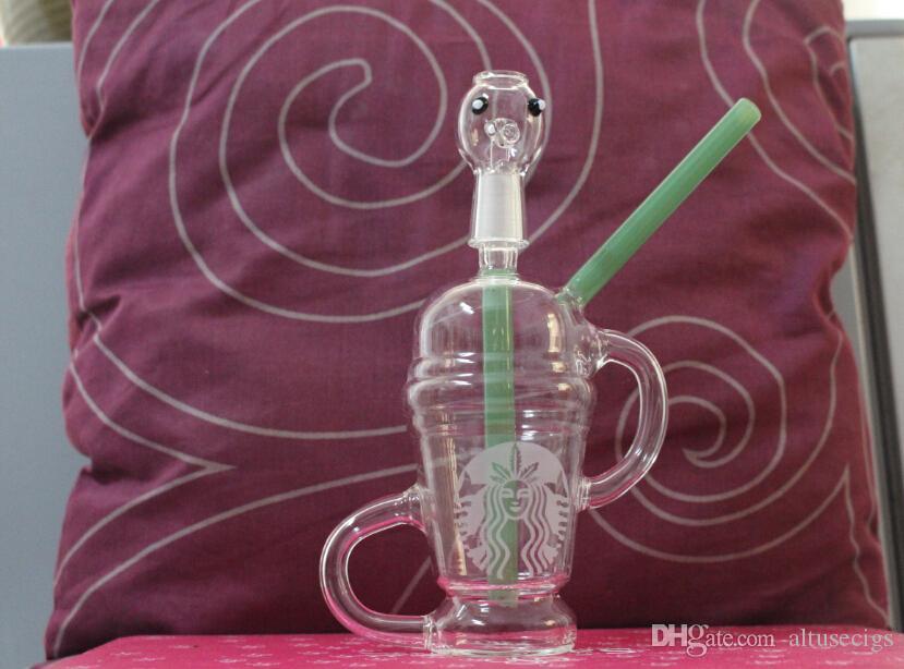 Dabuccino dab dbuccino sabbiato da 14,5 mm con vetro riciclato simile a Hitman Glass x Evol Glass Sand Blast Bongs Water Pipe