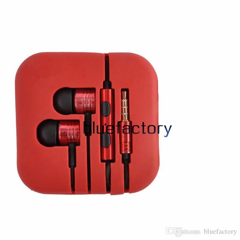 Universal 3.5mm xiaomi fones de ouvido fone de ouvido com cancelamento de ruído fones de ouvido fone de ouvido com microfone para xiaomi iphone samsung htc huawei ...
