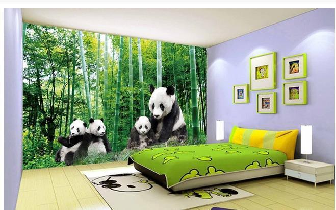 panda wall mural