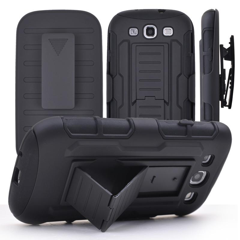 separation shoes 32687 51bb7 Hybrid Armor Hard Case for iPhone 6 6s plus Belt Clip Holster With  Kickstand Swivel Holder Rugged Phone Cover for samsung galaxy S6 Note 5 4