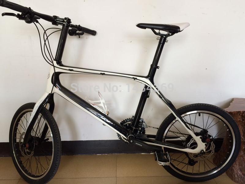 Carbon Fiber T800 Bicycle Bmx Fork 20 406 Wheel Disc Brakes Fork ...