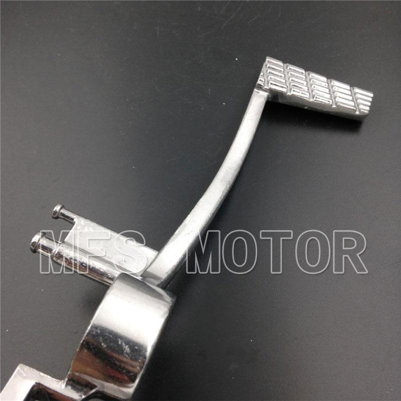 Motorcycle For Suzuki GSXR 600 750 2006 2007 2008 2009 2010 GSXR1000 2005-20011 Silver Folding Brake Shift Pedal Foot Lever