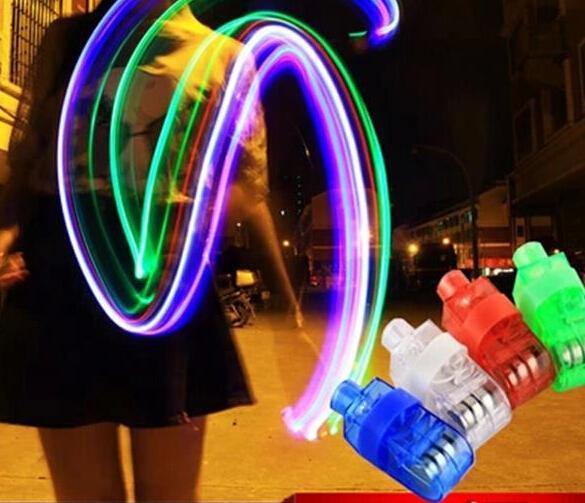 Livre DHL 500ps Branco Verde Vermelho Azul Magia LED Brilho Flash anel de dedo brilhante luzes da lâmpada como a festa de natal brilho do casamento MAGIC