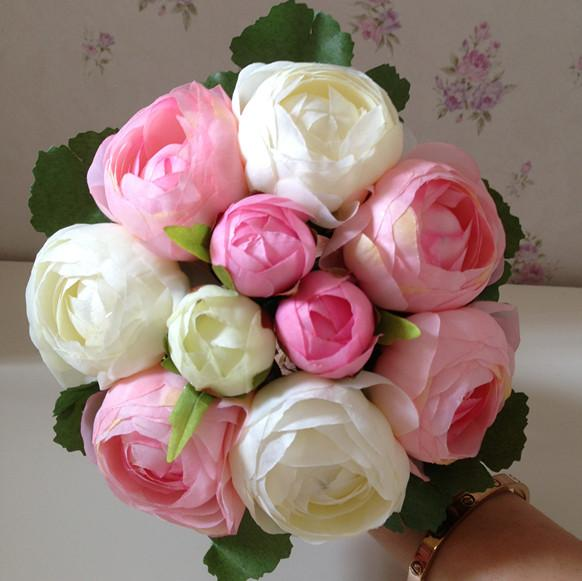 2015 Spring Summer Wedding Bouquets Bridal Flowers Personalized High ...