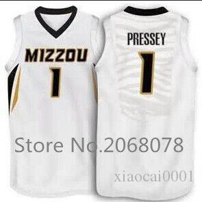 brand new df990 e5cbc Cheap #1 Phil Pressey Missouri Tigers Basketball Jersey  yellow,white,stitched name and number,custom MIZZOU any sizes
