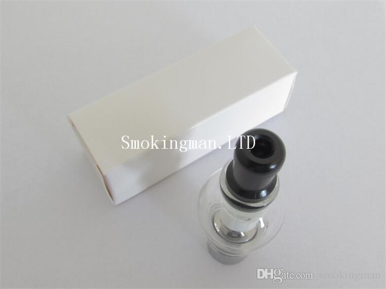 In Stock Best Glass globe atomizer pyrex glass tank Wax Coil vaporizer pen vapor cigarettes electronic cigarette glass atomizer Cartomizer