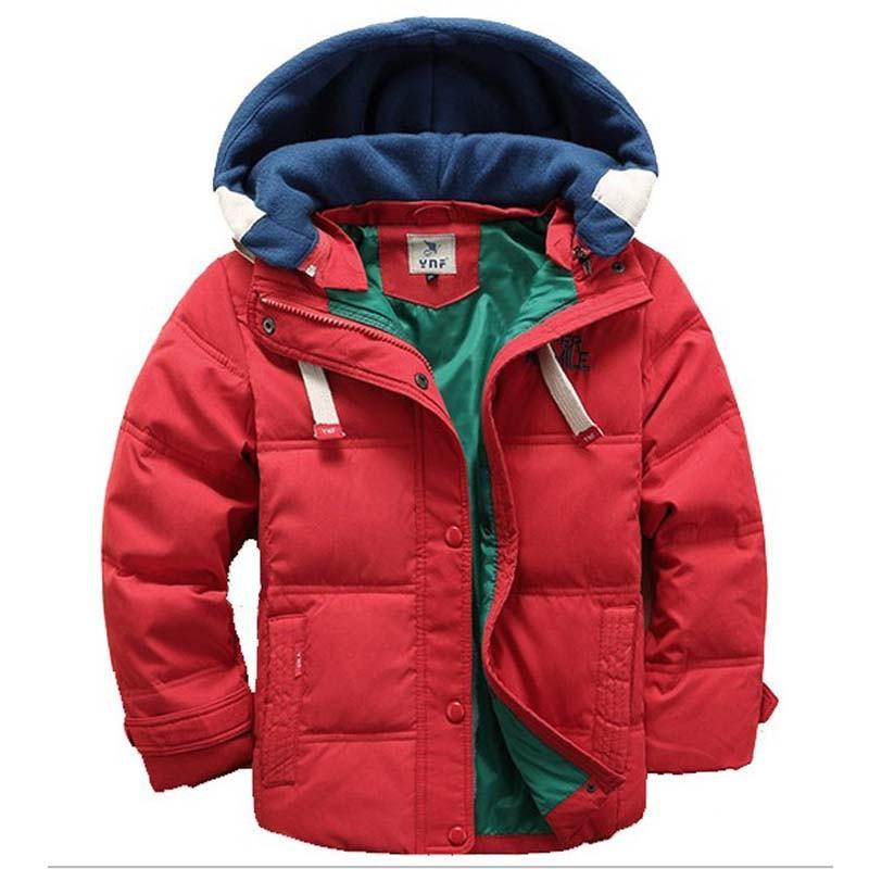 2923c5c2135c 2015 Boys Winter Jacket Cotton Padded Coat Children Outerwear Thick ...