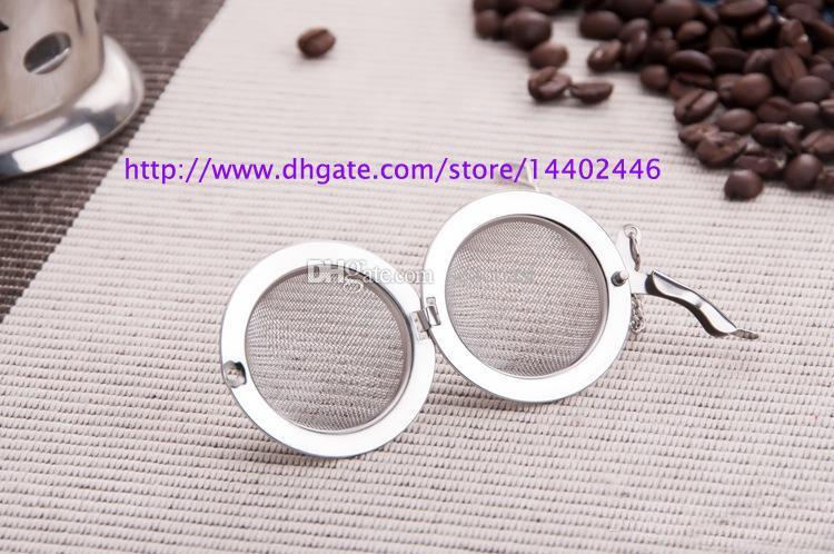 DHL FEDEX En Iyi Fiyat 200 adet / grup Paslanmaz Çelik Çay Pot Demlik Küre Mesh Süzgeç Topu 5.5 cm Ücretsiz kargo