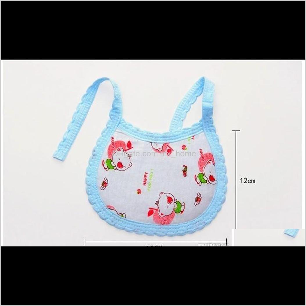2018 new hot sale baby cartoon bibs toddler cotton bib infant newborns bibs mixed colors 100pcs/lot